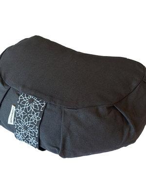 Samarali -  Yogamatten en Accessoires Organic Yoga Meditation Kussen Crescent Grey