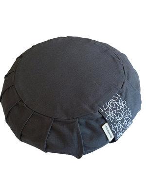 Samarali -  Yogamatten en Accessoires Organic Yoga Meditation Cushion Zafu Grey