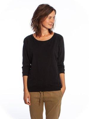 Yogamii - Organic Yoga Wear Mukha Blouse Black