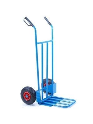 Import Steekwagen blauw met klep