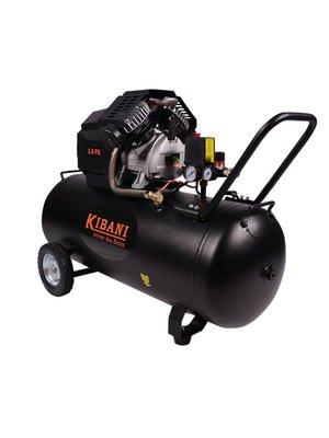 Kibani Kibani compressor 100ltr, met dubbele pomp