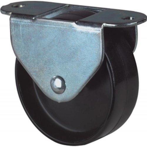 Kelfort Kelfort bokwiel 30mm, kunststof loopvlak