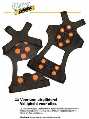 Import City Track:  overtrekschoenen - anti slip, maat 36-41