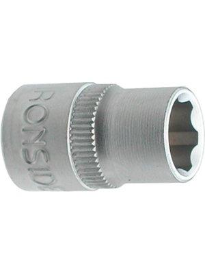 """Ironside Ironside dopsleutel 15mm zeskant, met 3/8"""" aansluiting"""