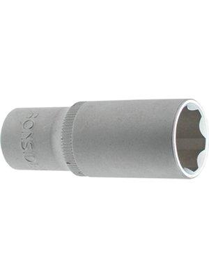 "Ironside Ironside dopsleutel 8mm zeskant, met 1/4"" aansluiting. Verlengd"