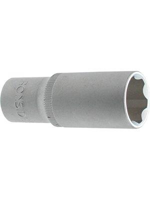 "Ironside Ironside dopsleutel 10mm zeskant, met 3/8"" aansluiting. Verlengd"