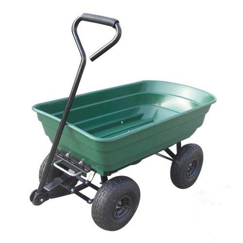 Turfmaster Turfmaster tuinkar met kunststof kipbak - Max capaciteit 250 kg