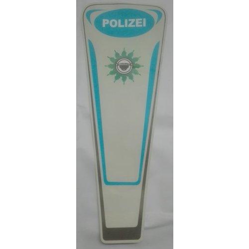 Buffalo Politie-sticker voor de spoiler. POLIZEI-blauw