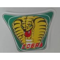 COBRA-sticker klein voor de spoiler.