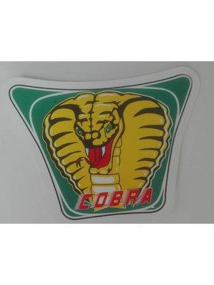 Buffalo COBRA-sticker klein voor de spoiler.