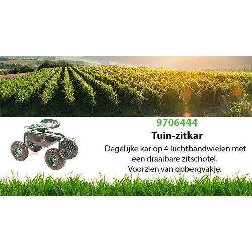 Import Tuin zitkar 150 kg.