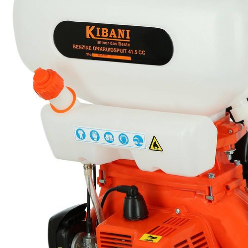 Kibani Kibani Motor-nevelspuit, 41.5cc, twee-takt, 20L.