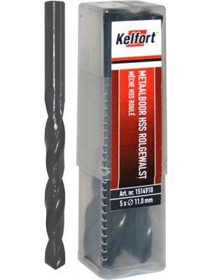 Kelfort HSS metaalboor 10.5mm, rolgewalst