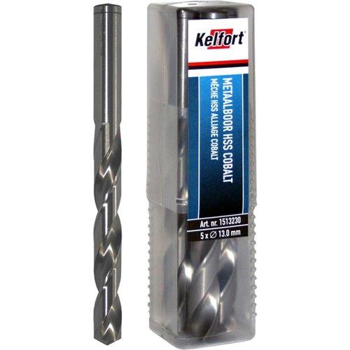 Kelfort HSS metaalboor 3.6mm,  5% cobalt, blankgeslepen
