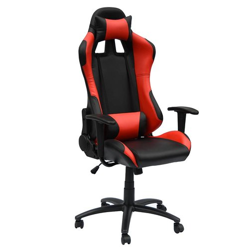 Import Bureaustoel gamestoel Manchester zwart/rood