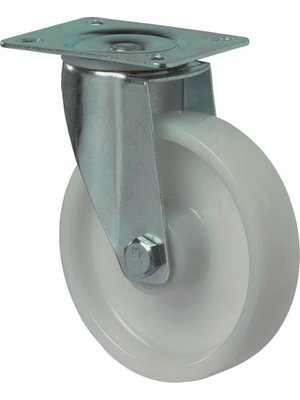 Kelfort Zwenkwiel 105mm, polyamide wiel.
