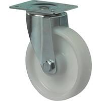 Zwenkwiel 190mm, polyamide wiel.
