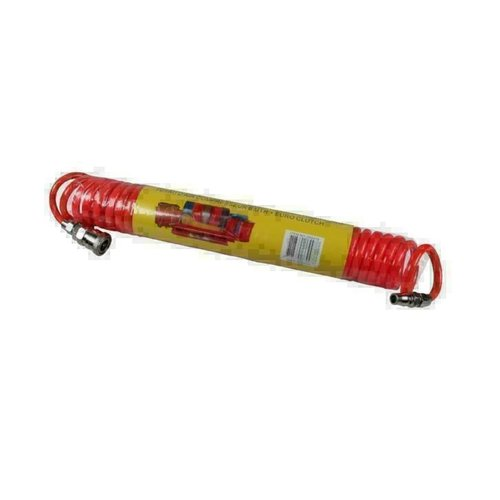 Benson Benson compressor spiraal luchtslang,6mtr