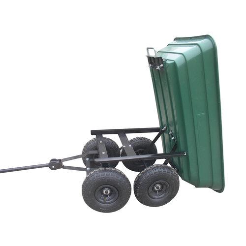 Turfmaster Turfmaster XBITC250 tuinkar, kunststof kipbak  250 kg