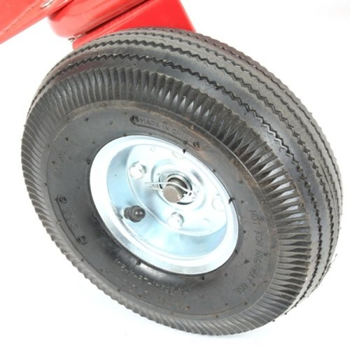 Import Steekwagen rood  + steunwiel