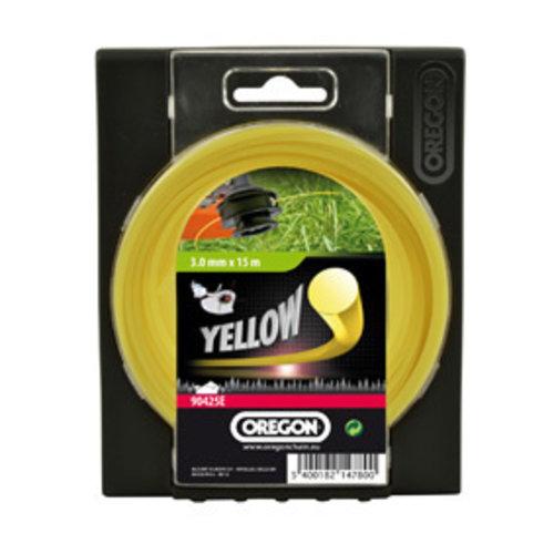 Oregon Oregon Maaidraad 3,0 geel - 90425E 15m