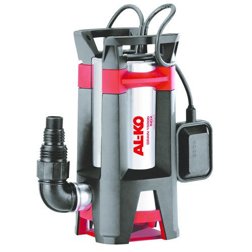 Alko Alko Dompelpomp vuil water, vlotter 15000 ltr, DRAIN15000INOX