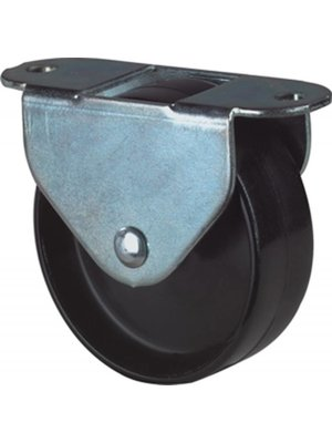 Kelfort Kelfort bokwiel 50mm, kunststof loopvlak