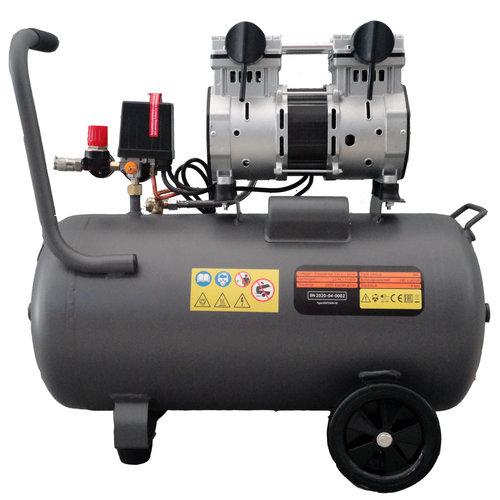 Kibani Kibani stille olievrije compressor 50 liter - 8bar