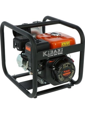 Kibani Kibani benzine waterpomp 60.000 liter p/uur