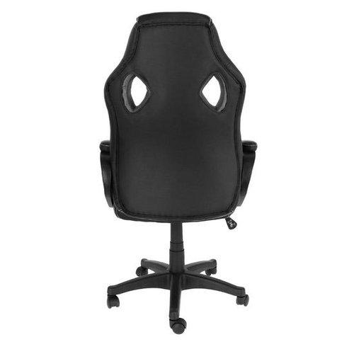 Import Manhattan bureaustoel gamestoel zwart in raceseat-stijl