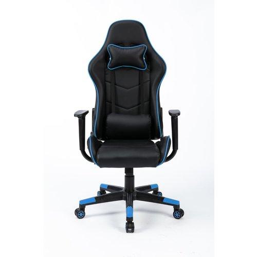 Alora Gamestoel Racer zwart/blauw
