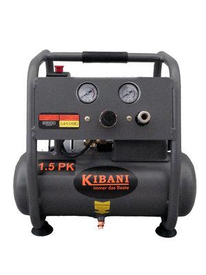 Kibani Kibani stille olievrije compressor 6 liter - 8bar