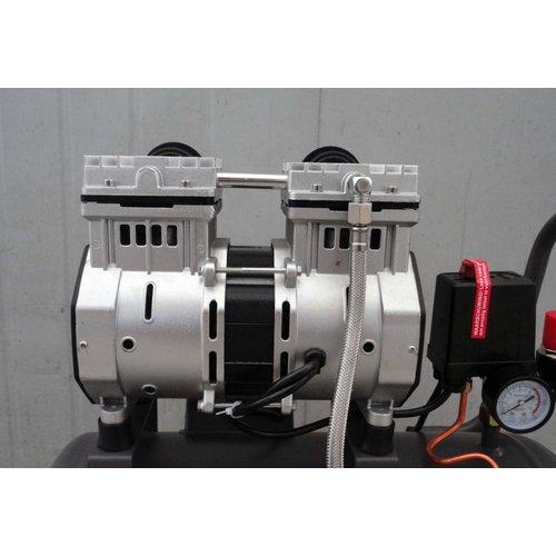Kibani Kibani stille olievrije compressor 24 liter - 8bar