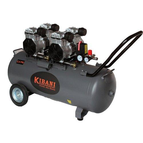 Kibani Kibani stille olievrije compressor 100 liter - 8bar