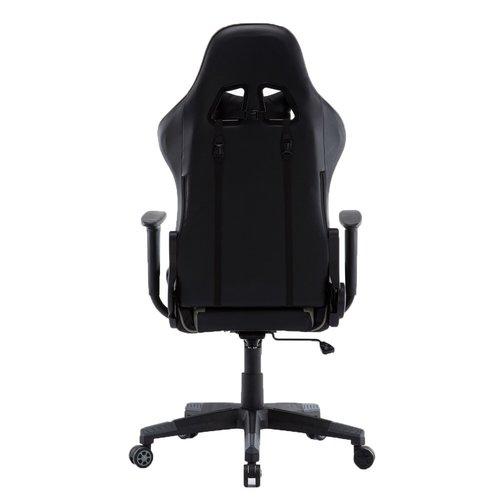 Alora Monaco bureaustoel / gamestoel grijs in raceseat-stijl