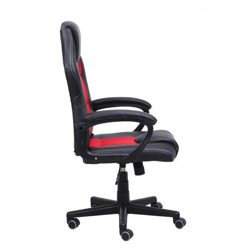 Import Little Bitch bureaustoel gamestoel  rood in raceseat-stijl