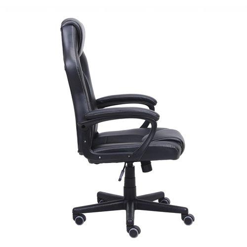 Import Little Bitch bureaustoel gamestoel  zwart in raceseat-stijl