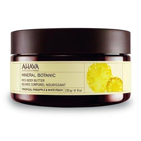 Ahava AHAVA Mineral Botanic Body Butter Pineapple & Peach