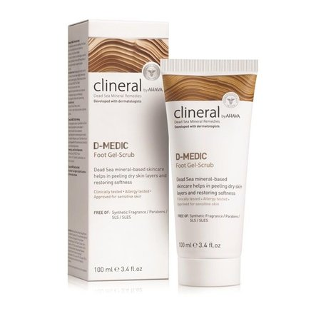 Clineral  D-MEDIC Foot Gel-Scrub
