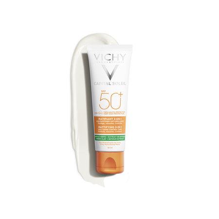 Vichy Vichy Capital Soleil Anti Acne 3-in-1 zonnebrand SPF50+ 50ml