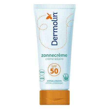 Dermolin Dermolin Zonnecrème SPF50 met UVA en UVB