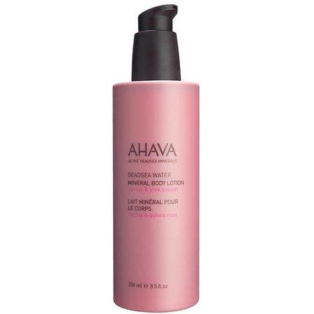 Ahava AHAVA Mineral Body Lotion Cactus Pink Pepper