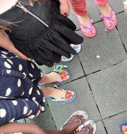 Kinderfeestje Slippers pimpen