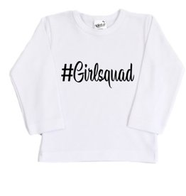Kinder  Shirt - #Girlsquad