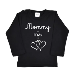 Kinder Shirt - Mommy + Me = Love