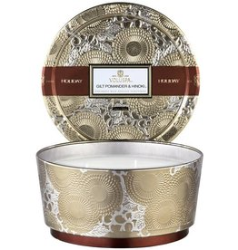 VOLUSPA GILT POMANDER & HINOKI TIN