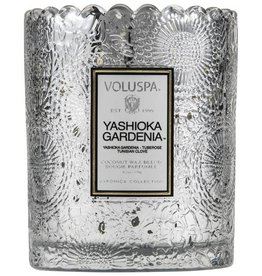 VOLUSPA ESCALOPED YASHIOKA GARDENIA