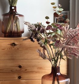 LIGHT & LIVING AUBERGINE VASE