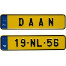 Miniplaatje Nederland