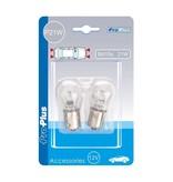 ProPlus Autolamp wit (12V 21W BA15s) (2 Stuks)